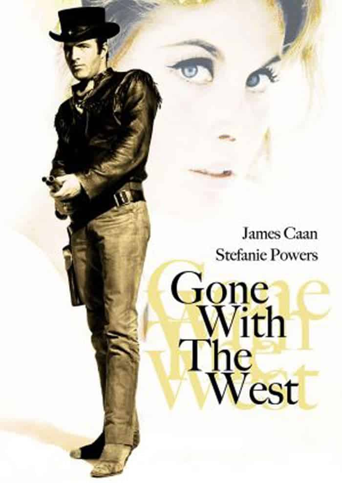 "Poster for the movie ""Gone With the West"""