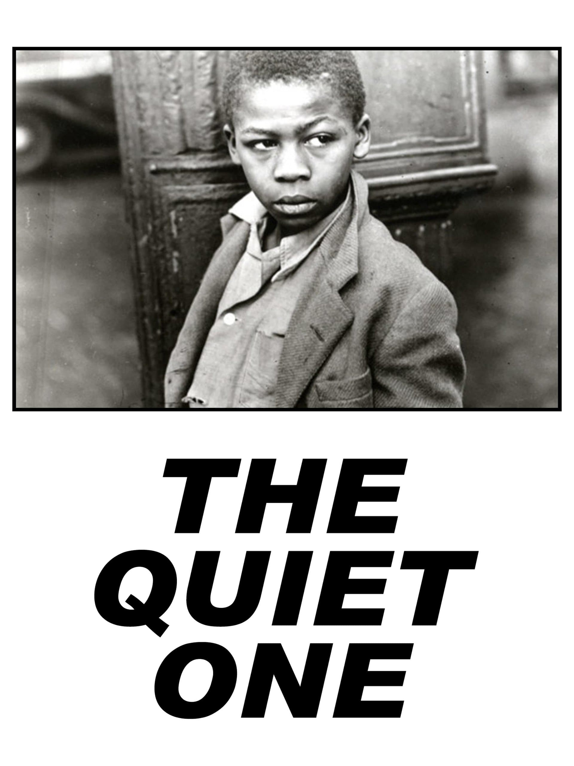 "Poster for the movie ""The Quiet One"""
