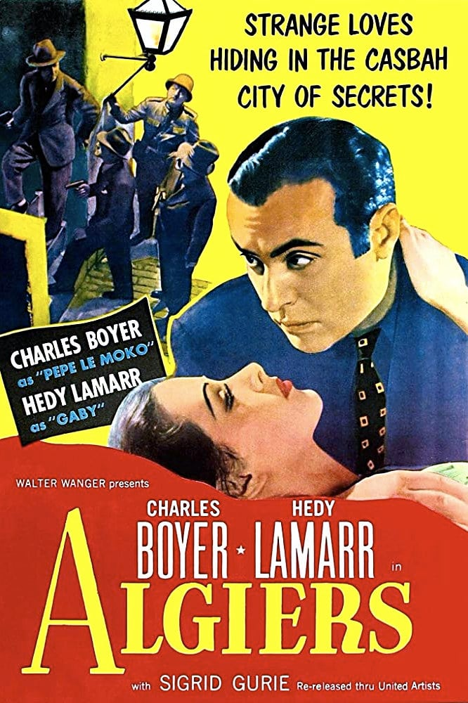 "Poster for the movie ""Algiers"""