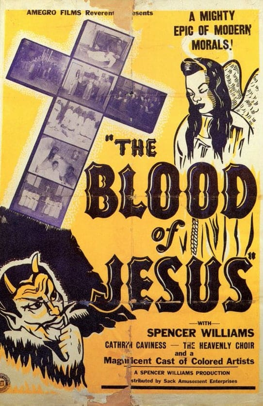 "Poster for the movie ""The Blood of Jesus"""