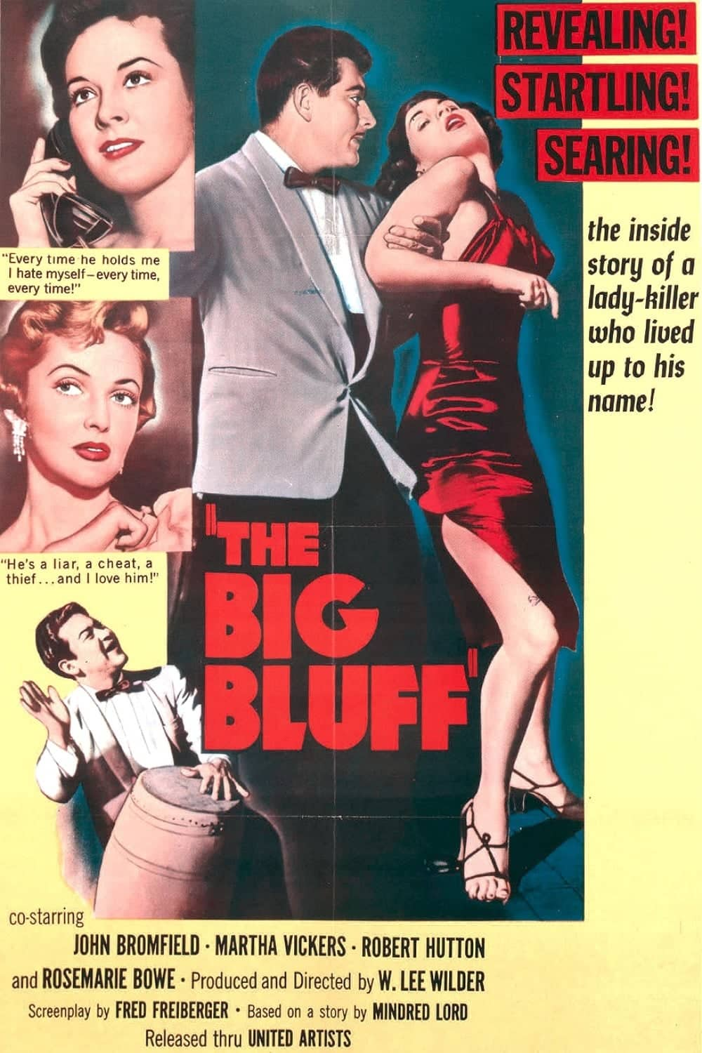 "Poster for the movie ""The Big Bluff"""