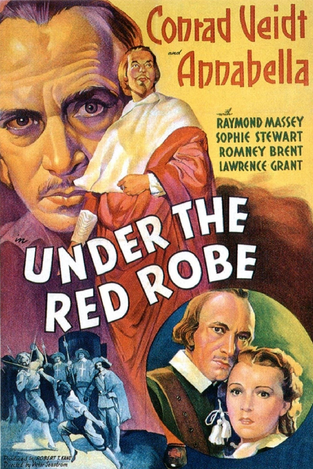 "Poster for the movie ""Under the Red Robe"""