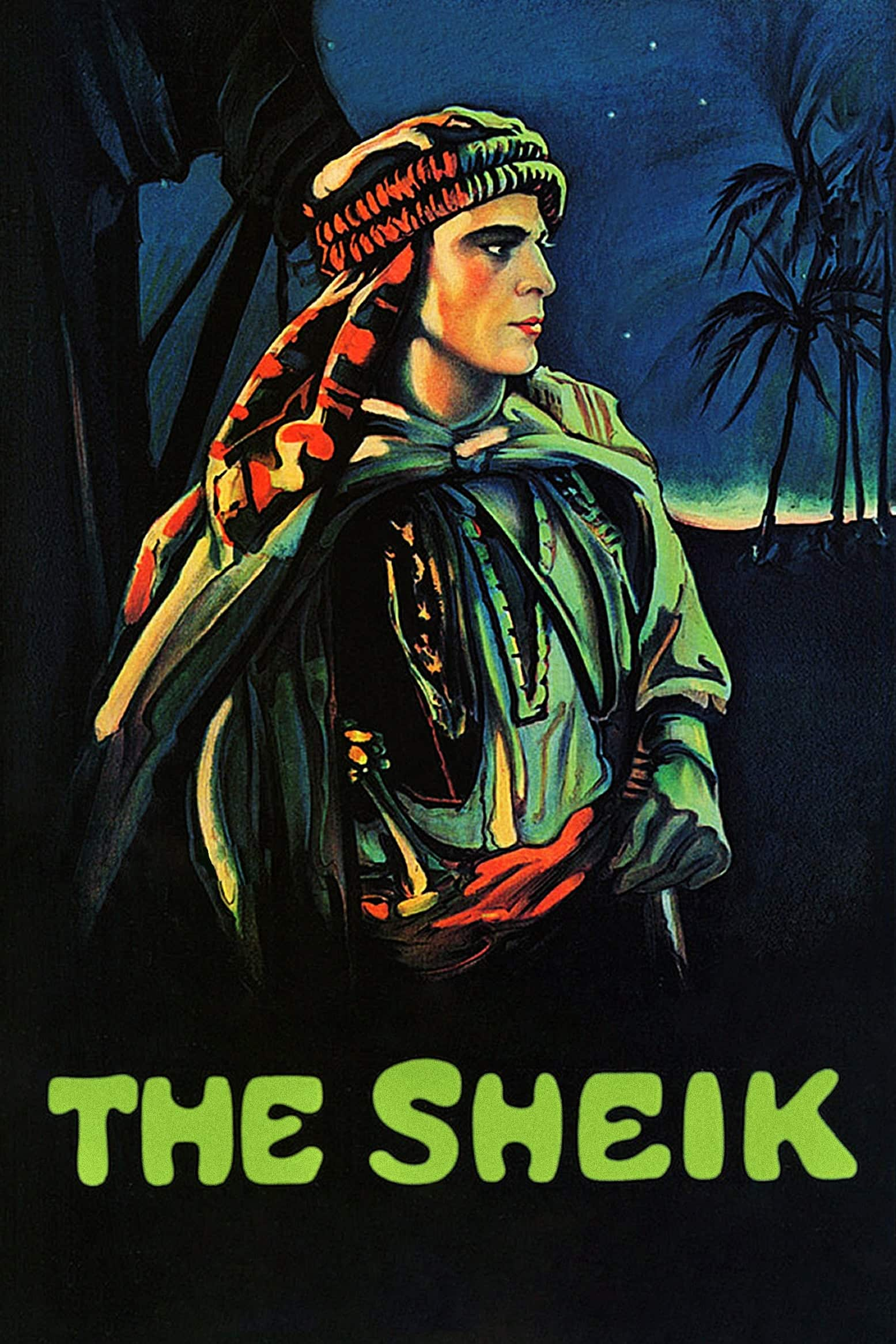"Poster for the movie ""The Sheik"""