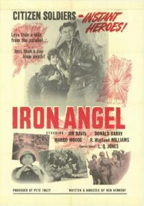 "Poster for the movie ""Iron Angel"""