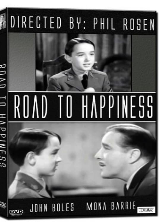 "Poster for the movie ""Road to Happiness"""