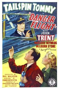 "Poster for the movie ""Danger Flight"""
