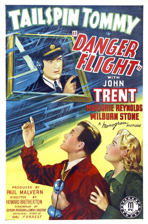 """Poster for the movie """"Danger Flight"""""""