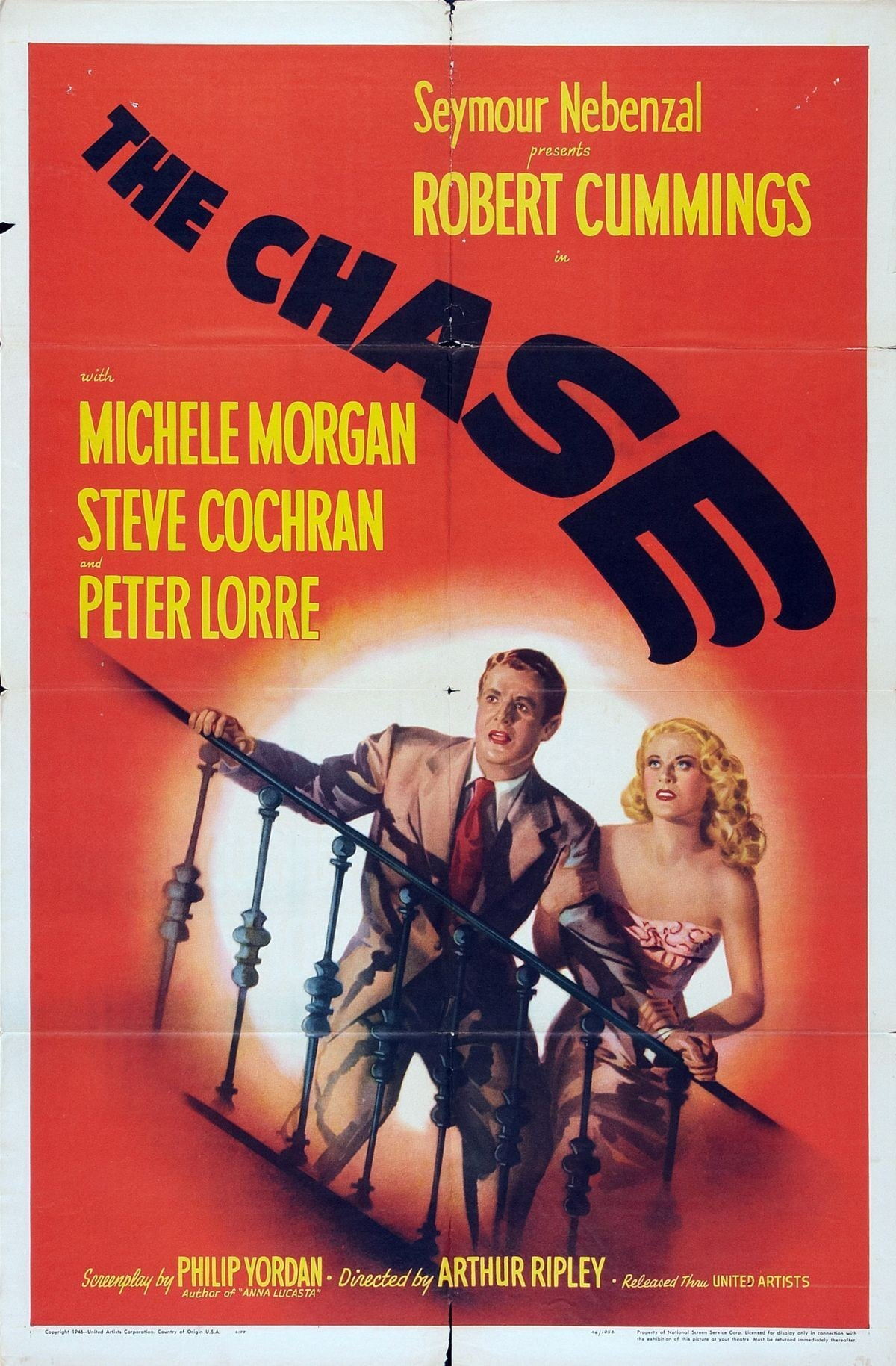 "Poster for the movie ""The Chase"""