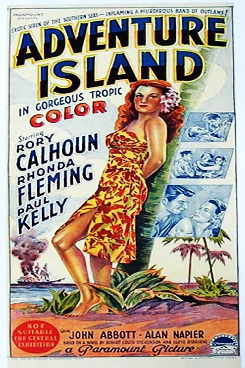 "Poster for the movie ""Adventure Island"""