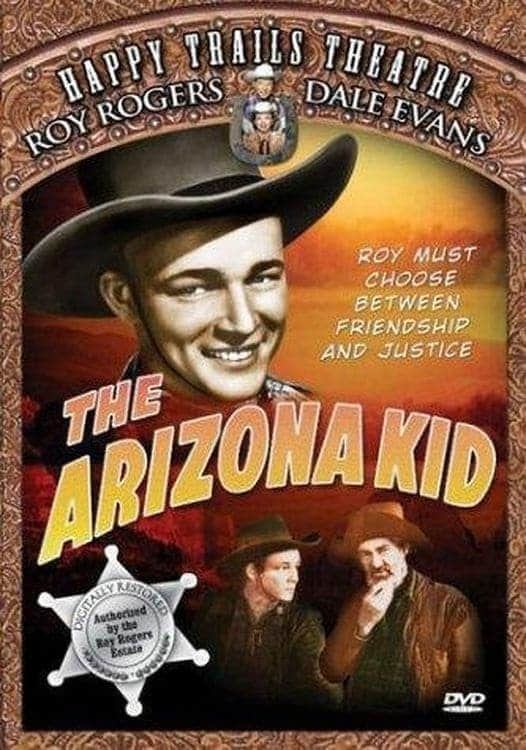 "Poster for the movie ""The Arizona Kid"""