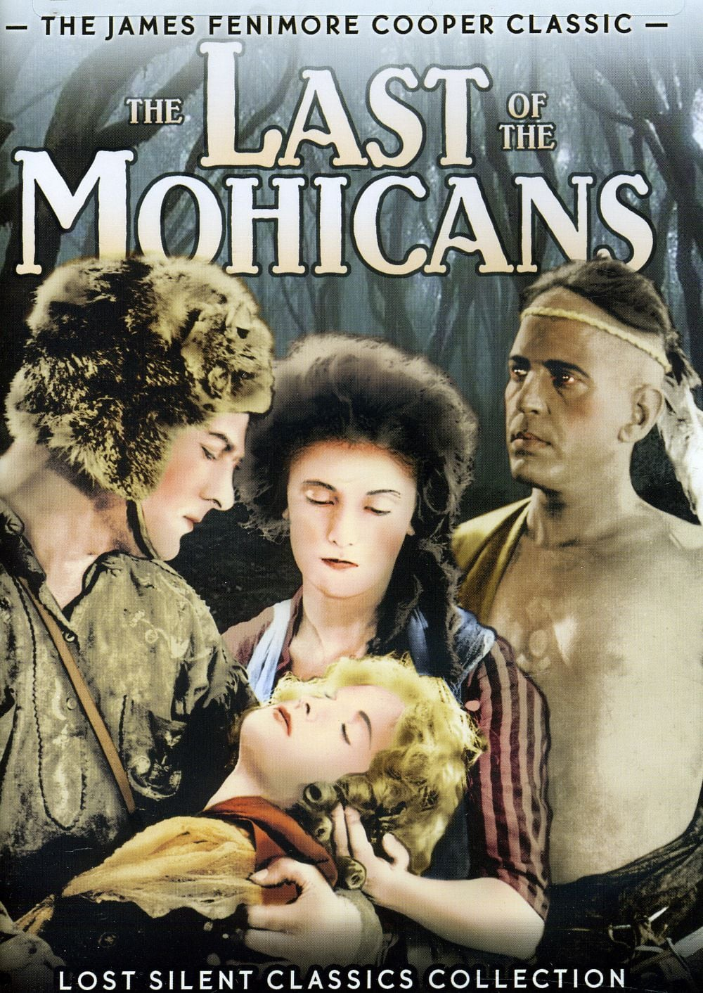 "Poster for the movie ""The Last of the Mohicans"""