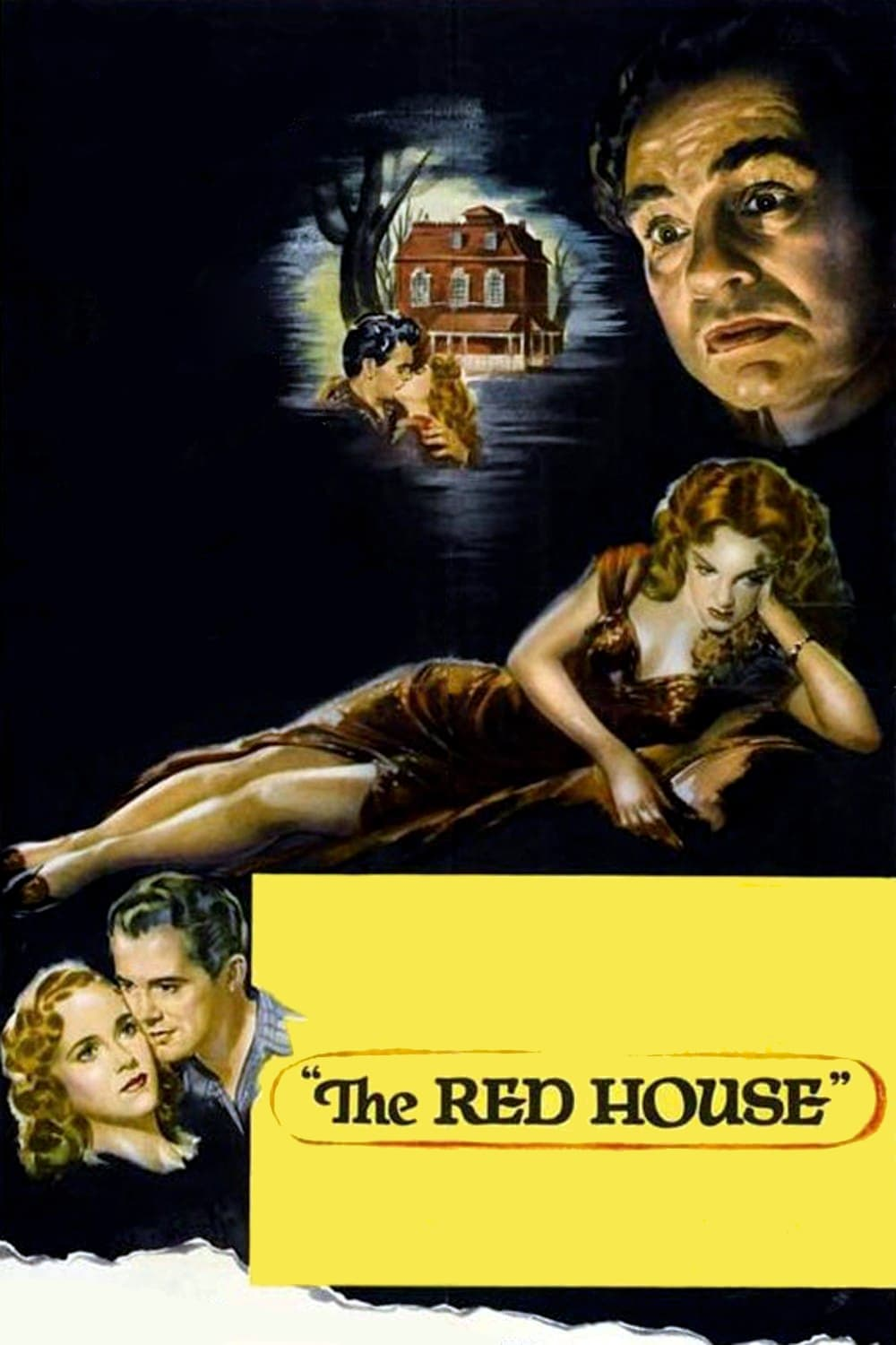 "Poster for the movie ""The Red House"""