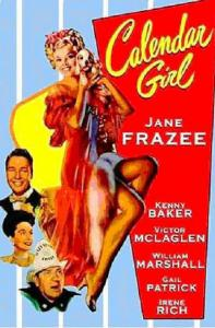 "Poster for the movie ""Calendar Girl"""