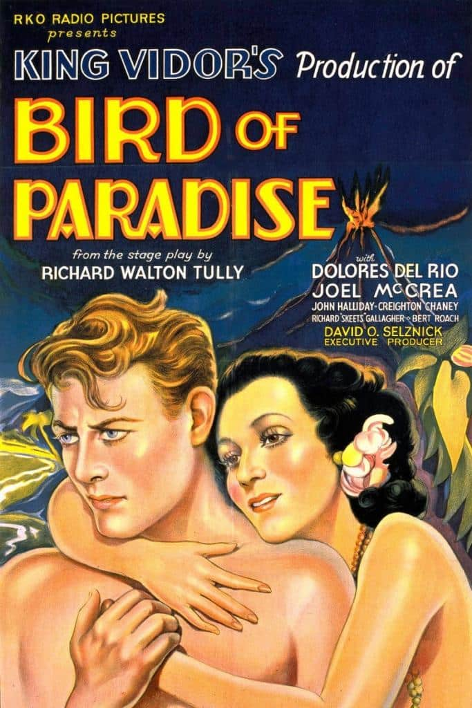 "Poster for the movie ""Bird of Paradise"""