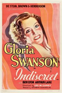 "Poster for the movie ""Indiscreet"""
