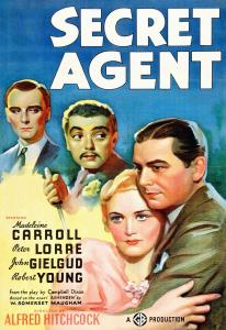 "Poster for the movie ""Secret Agent"""
