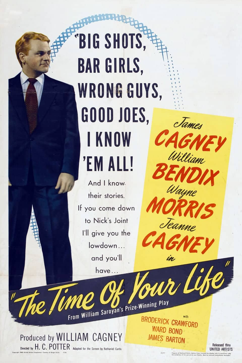 "Poster for the movie ""The Time of Your Life"""
