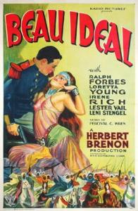 "Poster for the movie ""Beau Ideal"""