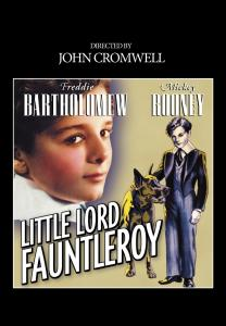 """Poster for the movie """"Little Lord Fauntleroy"""""""