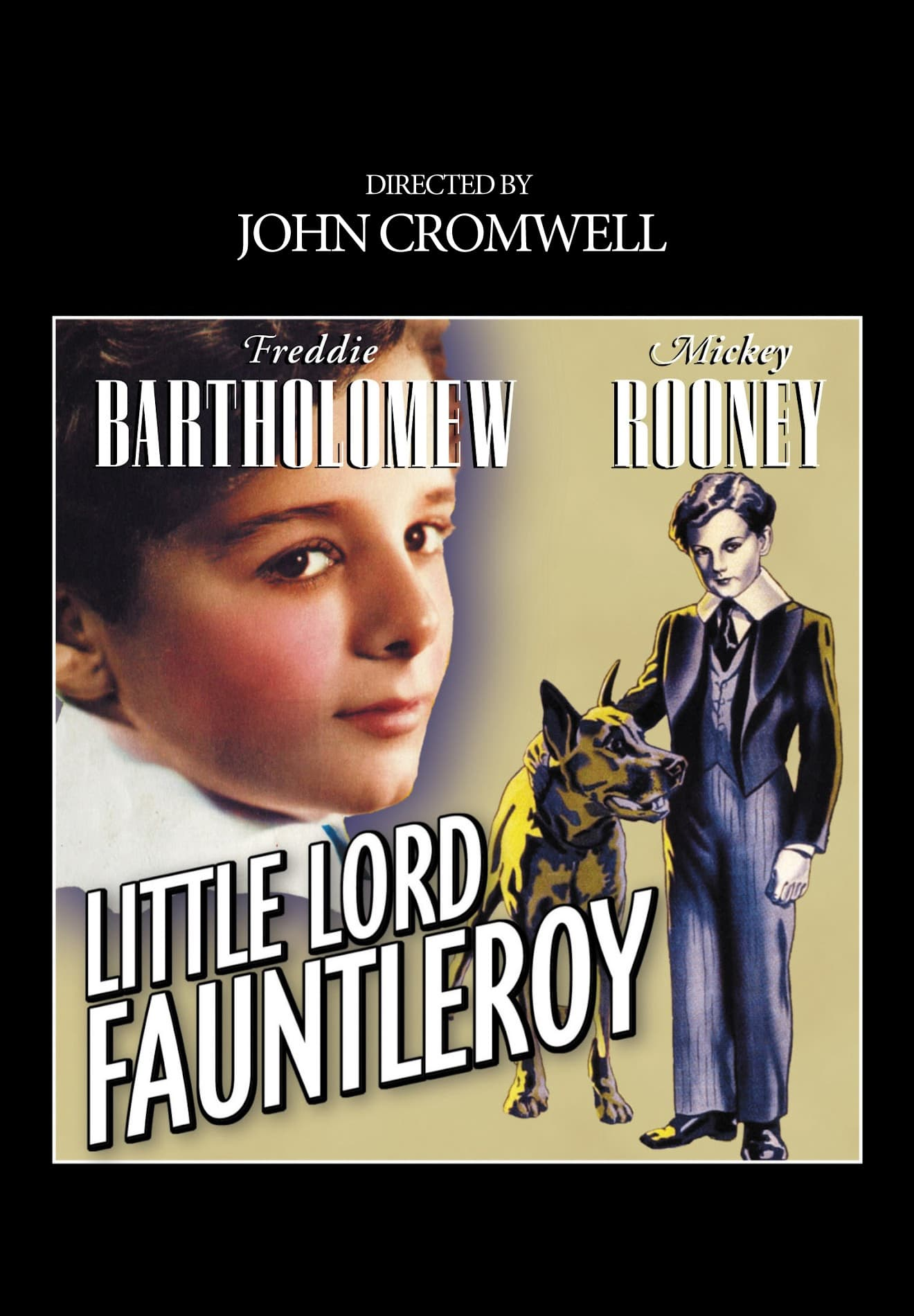 "Poster for the movie ""Little Lord Fauntleroy"""