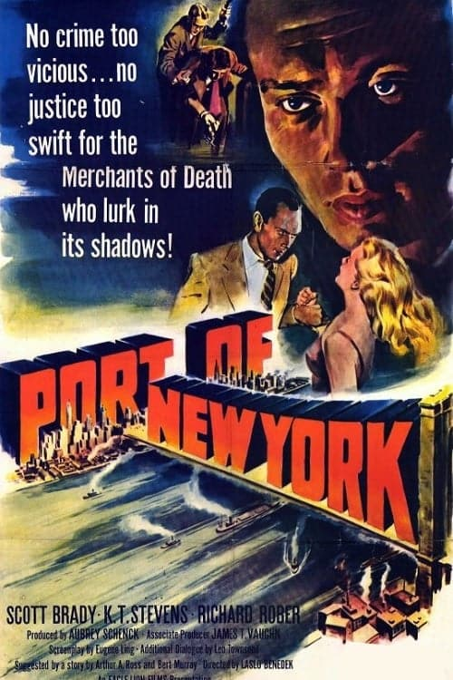"Poster for the movie ""Port of New York"""
