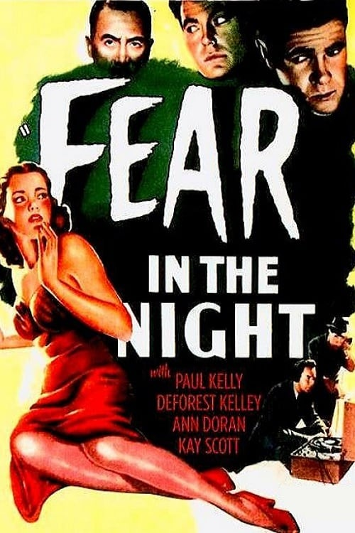 "Poster for the movie ""Fear in the Night"""