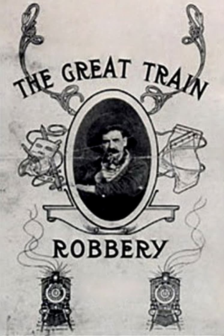 "Poster for the movie ""The Great Train Robbery"""