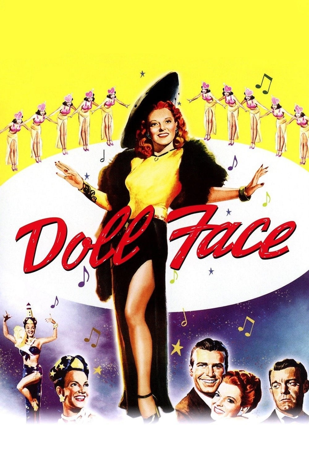 "Poster for the movie ""Doll Face"""
